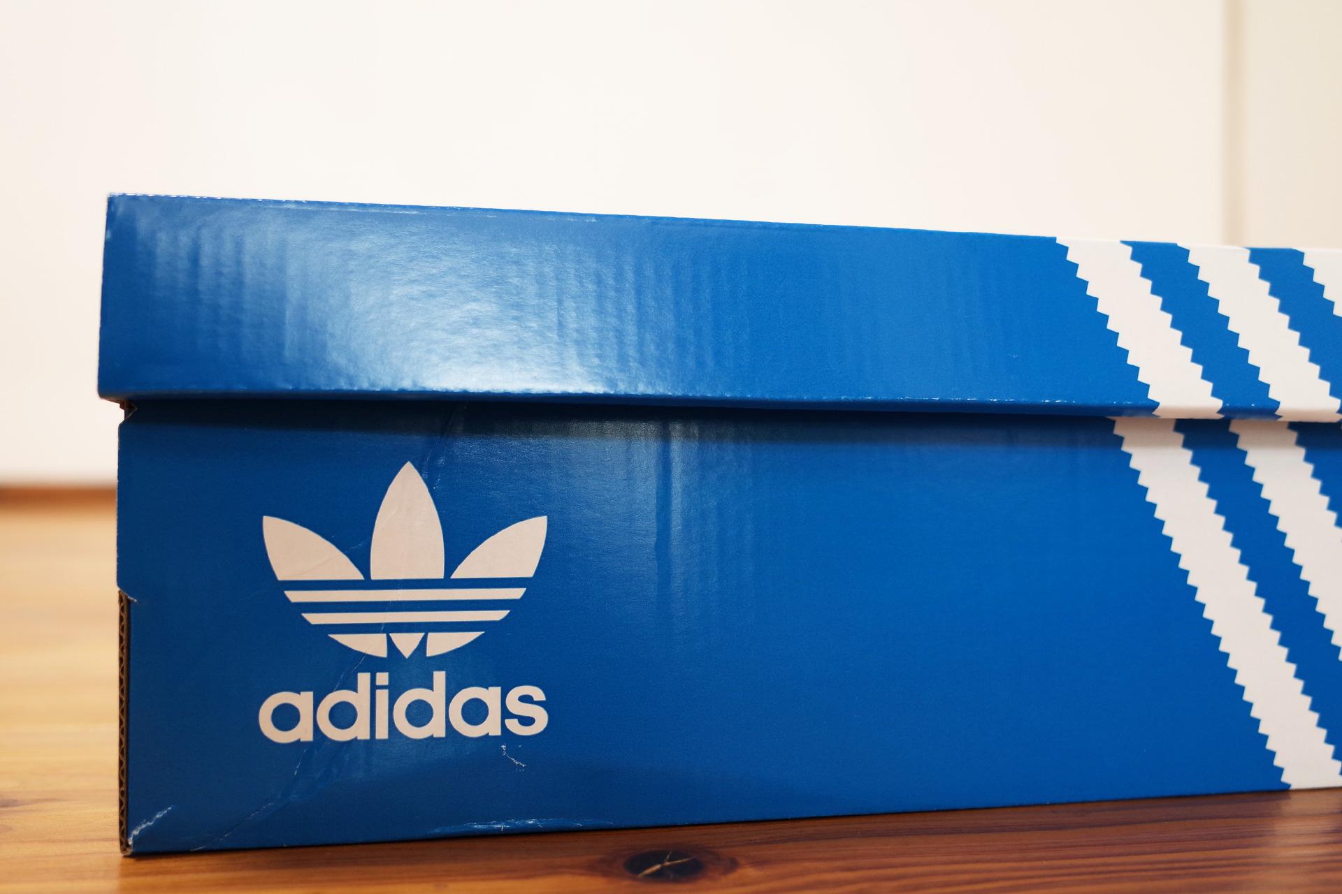 adidasアディダスオリジナルス CAMPUS キャンパス シューズ箱
