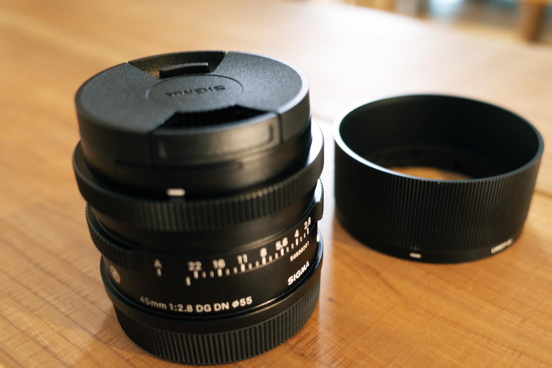 シグマ 45mm 2.8f DG DN 単焦点レンズ フルサイズ ミラーレス一眼用