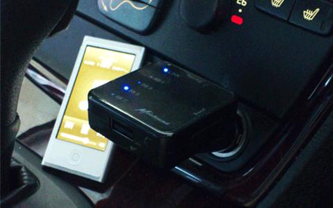 安くて高音質な iphone/ipod 用 FMトランスミッター