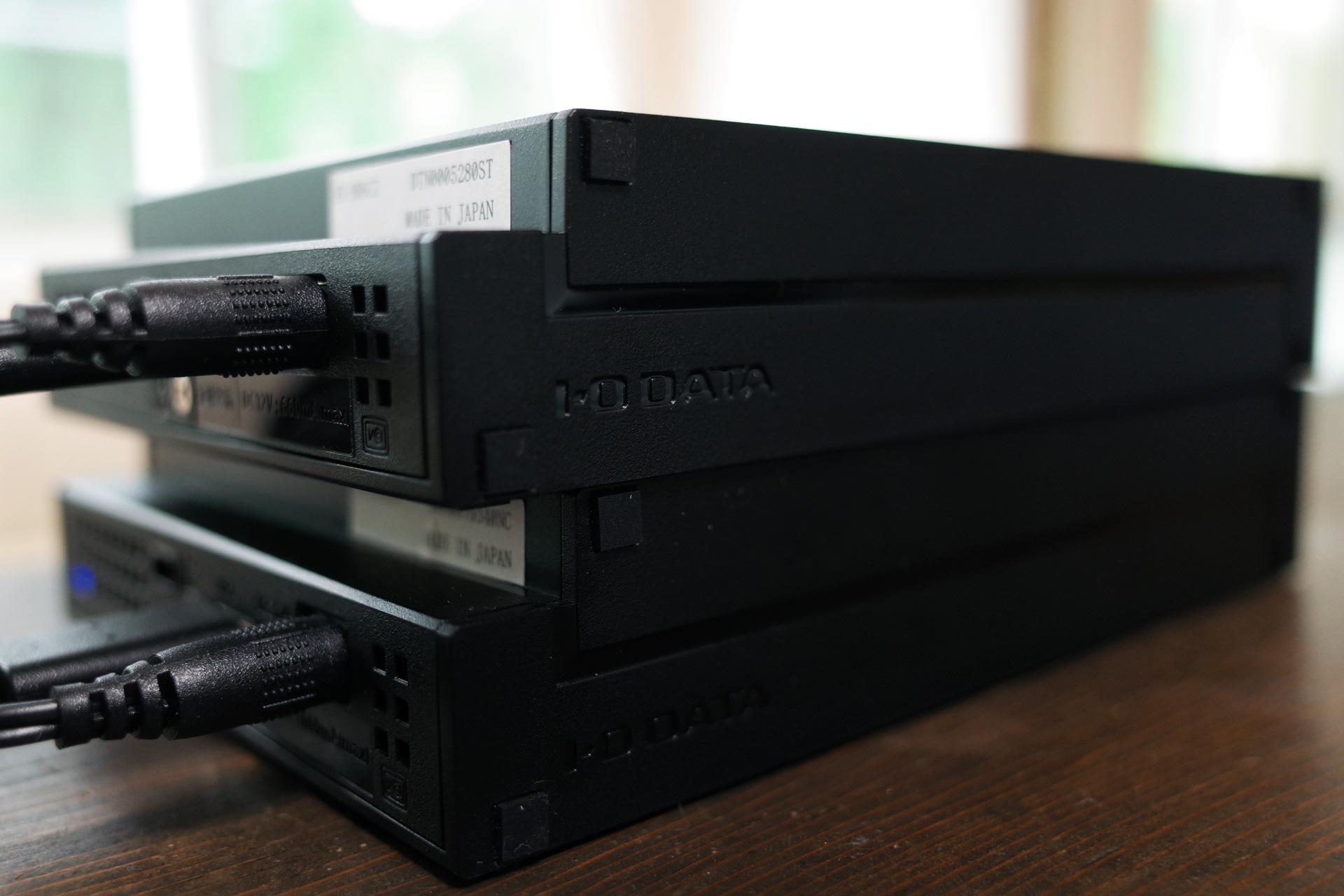 フォルダ間 同期で管理も楽々...外付けHDDハードディスク「I-O DATA」をパソコンに設置