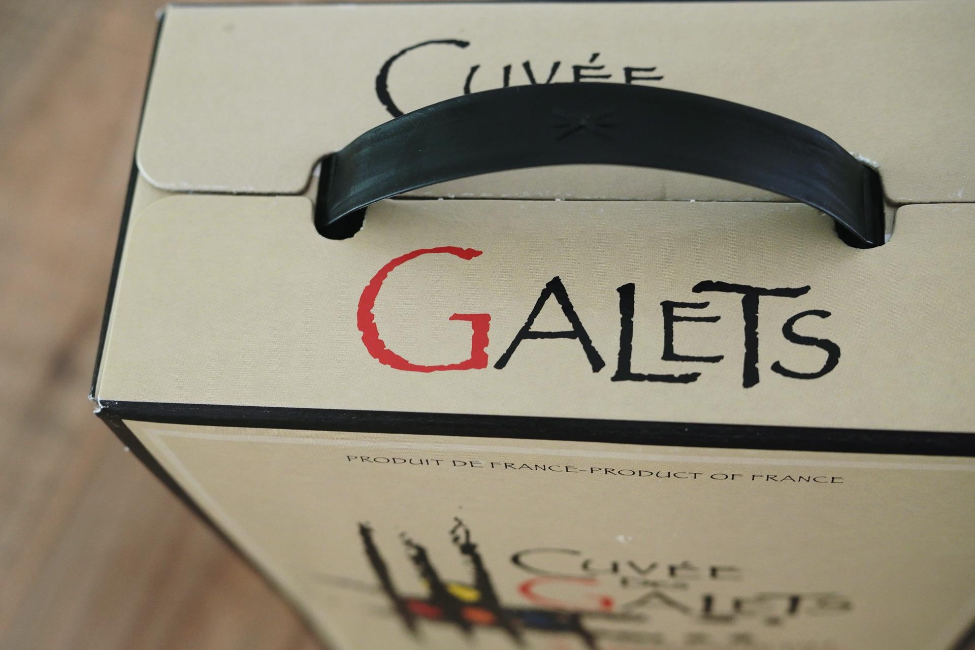 自然派ワイン・ビオワイン キュヴェ デ ガレ エステザルグ du Gard - Cuvée des Galets d'Estezargues 持ち運び安いボックスワイン