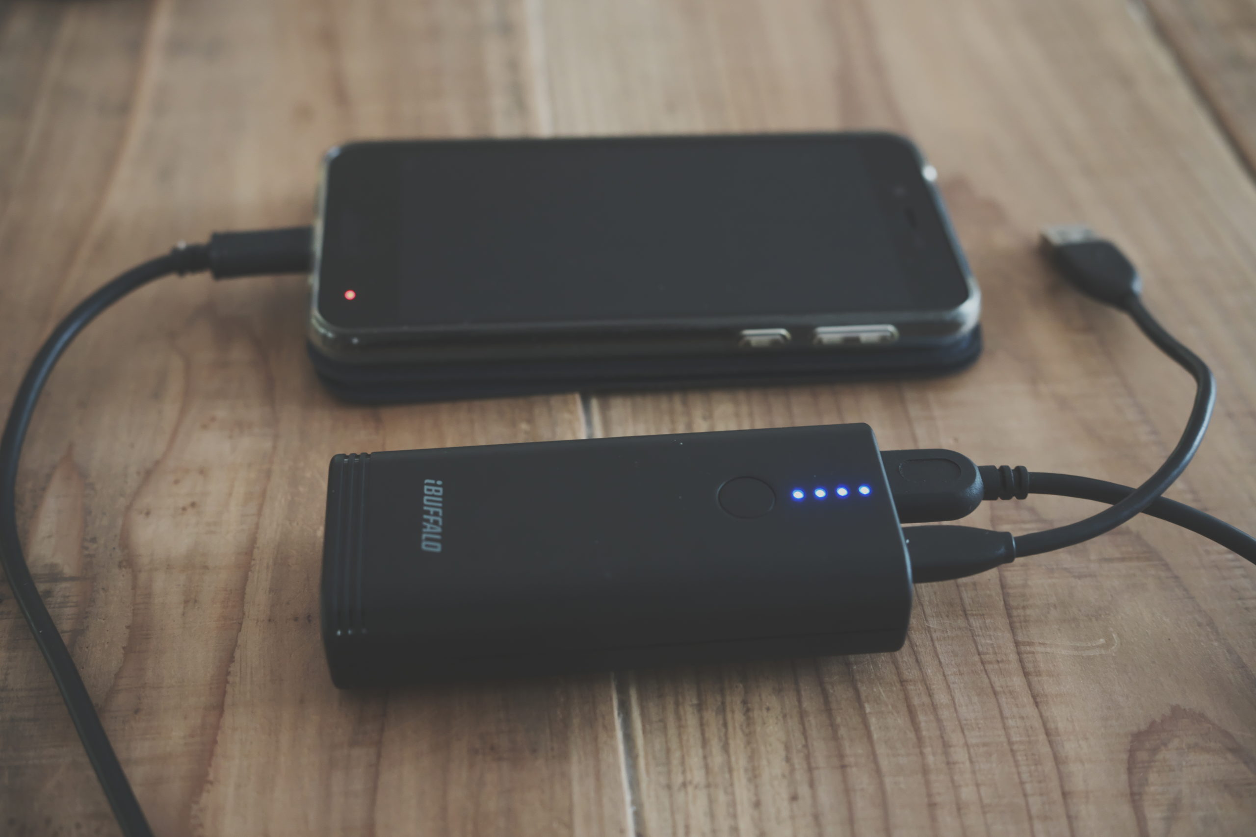 防災:停電対策「携帯、ポータブルバッテリー/スマートフォンや携帯電話の予備電源」
