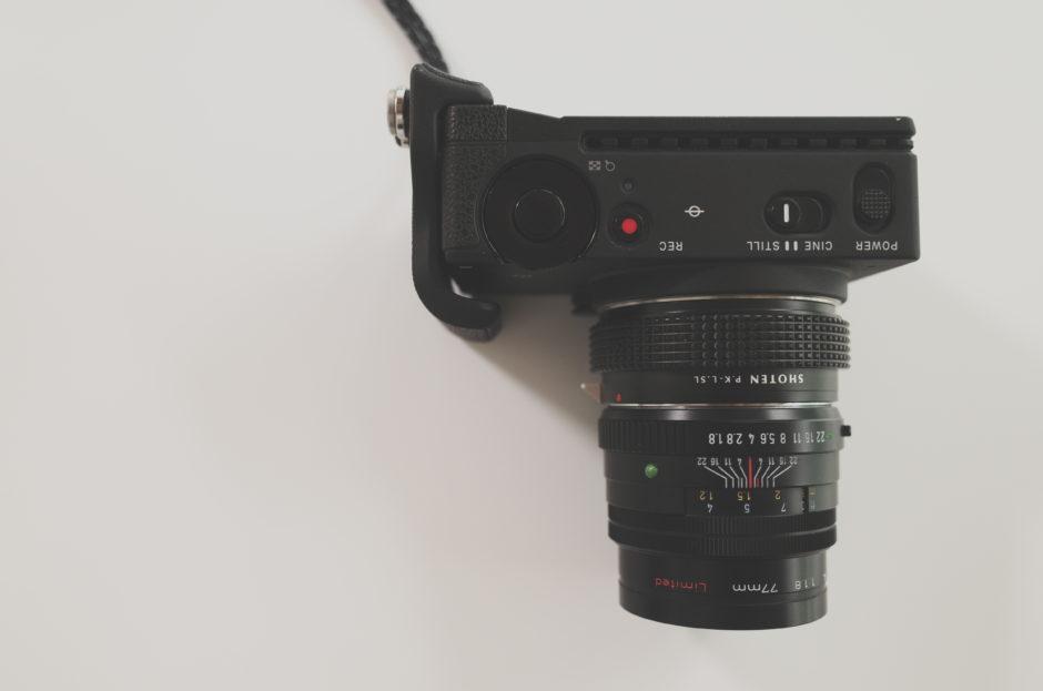 Lマウントアダプター「SHOTEN PK-LSL」でSIGMA fpとPENTAX-FA77mmF1.8 Limitedを接続/真上からの構図