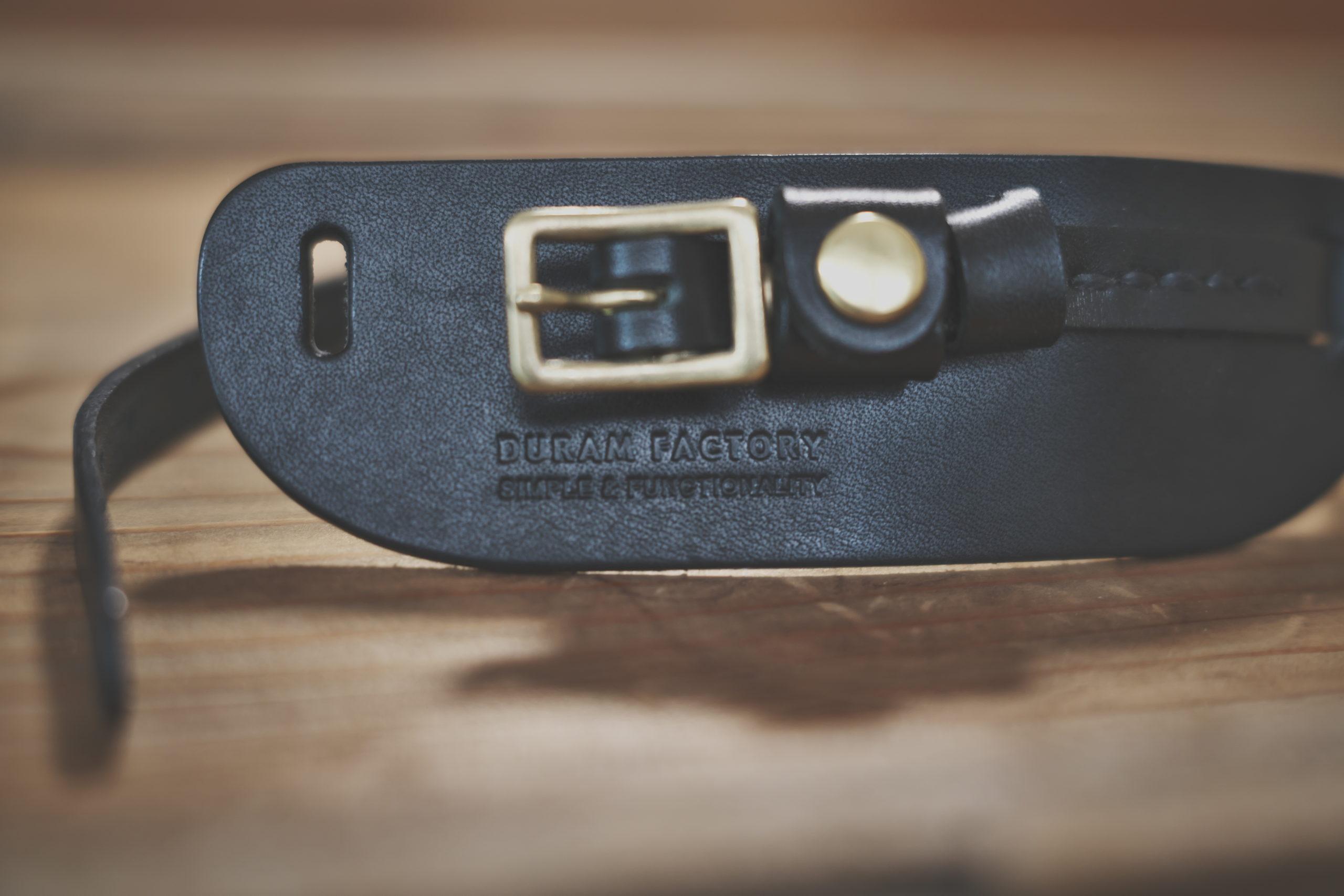 DURAMカメラ用革製ハンドストラップ-Detail