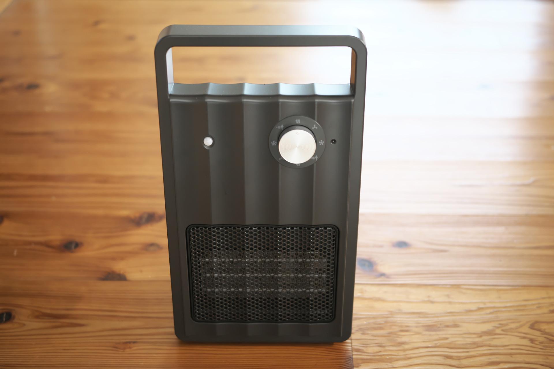 人感センサー付セラミックファンヒーター「NAFCO W-01」