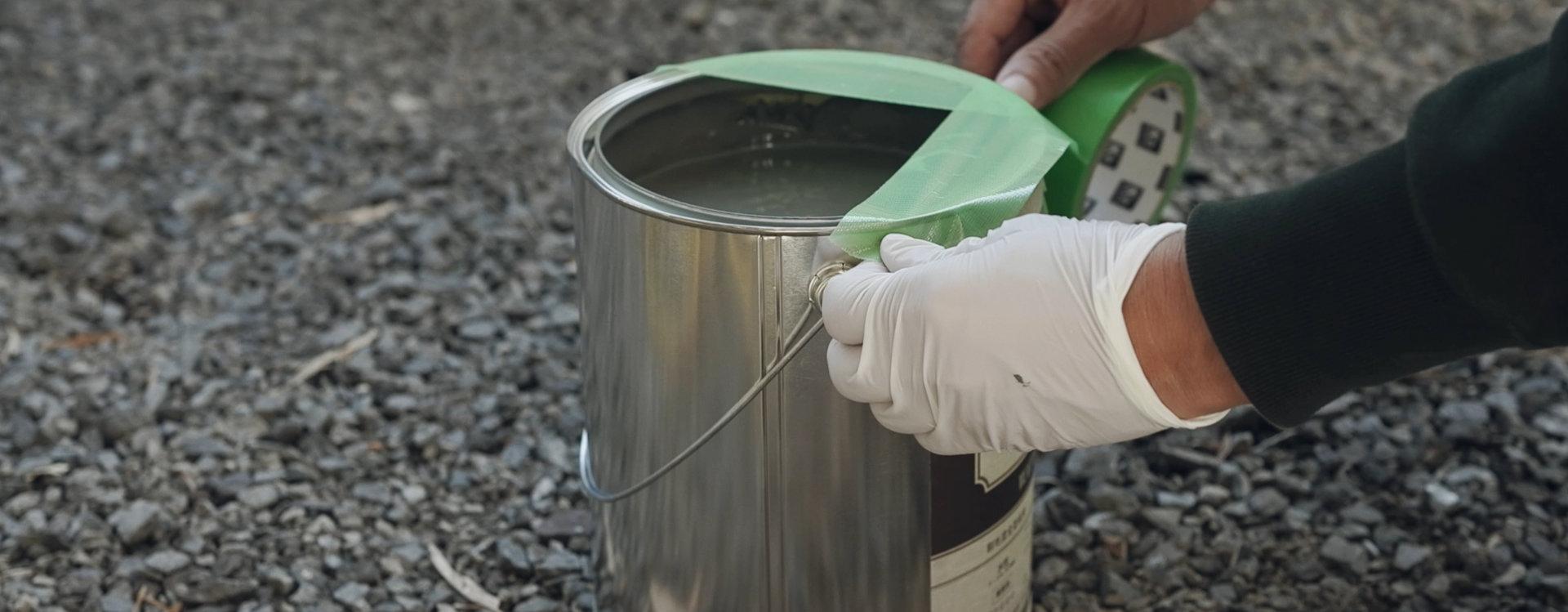 セレナをDIY全塗装タカラ塗料フレンチグレー水性|車塗装