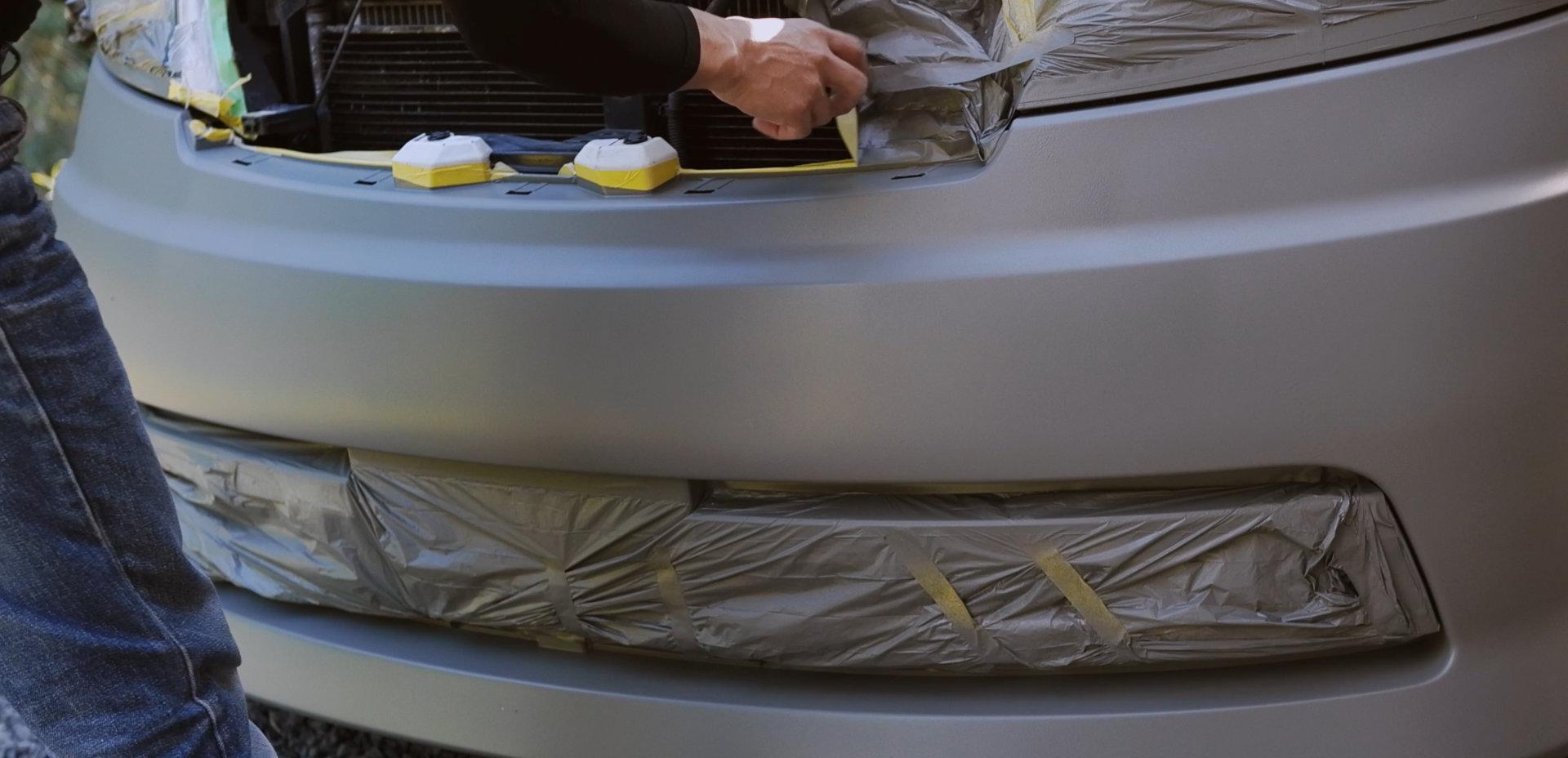 セレナをDIY全塗装 仕上げ|車塗装