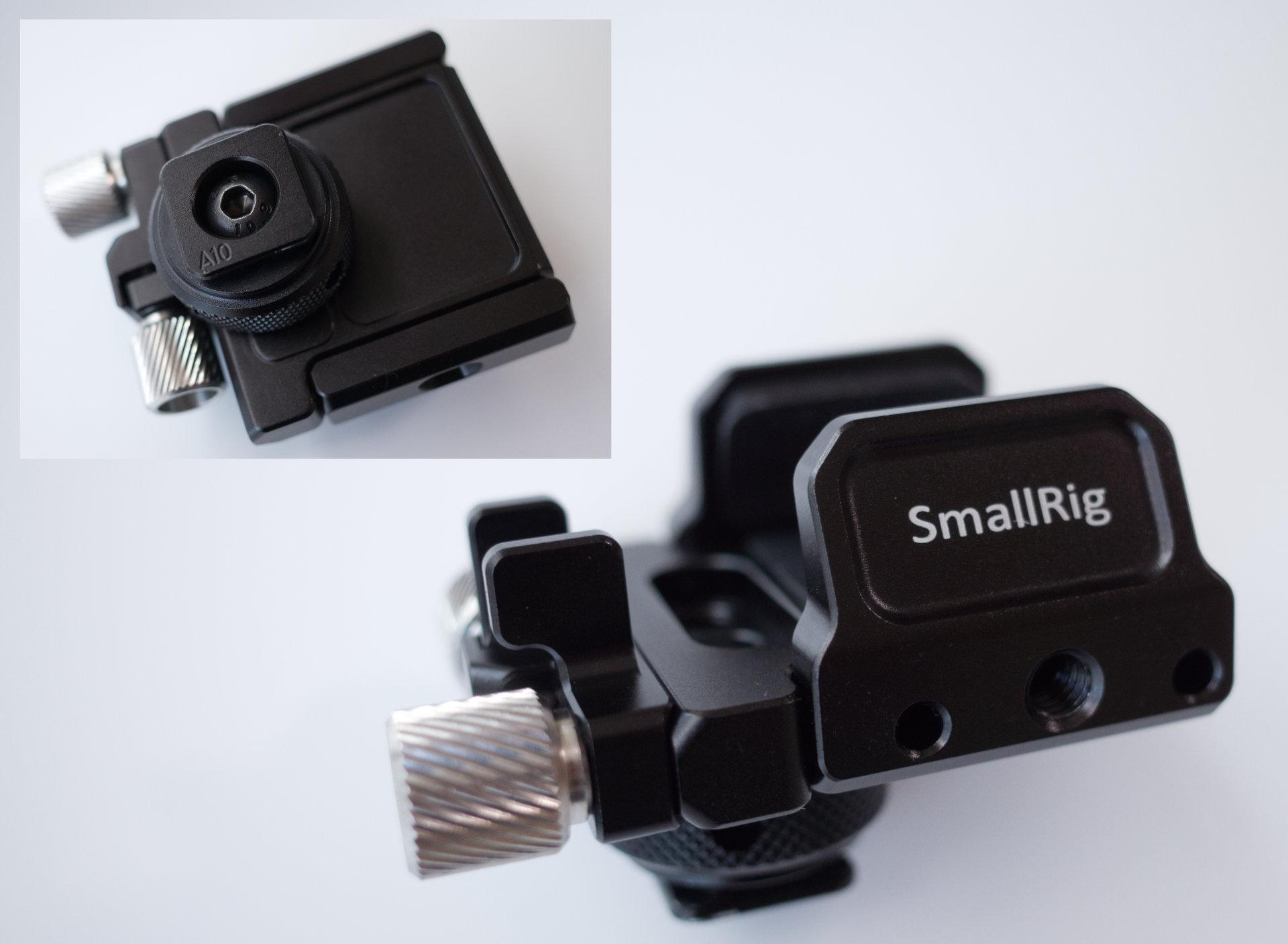 SmallRig Samsung T5 SSD用マウント クランプ BSH2343