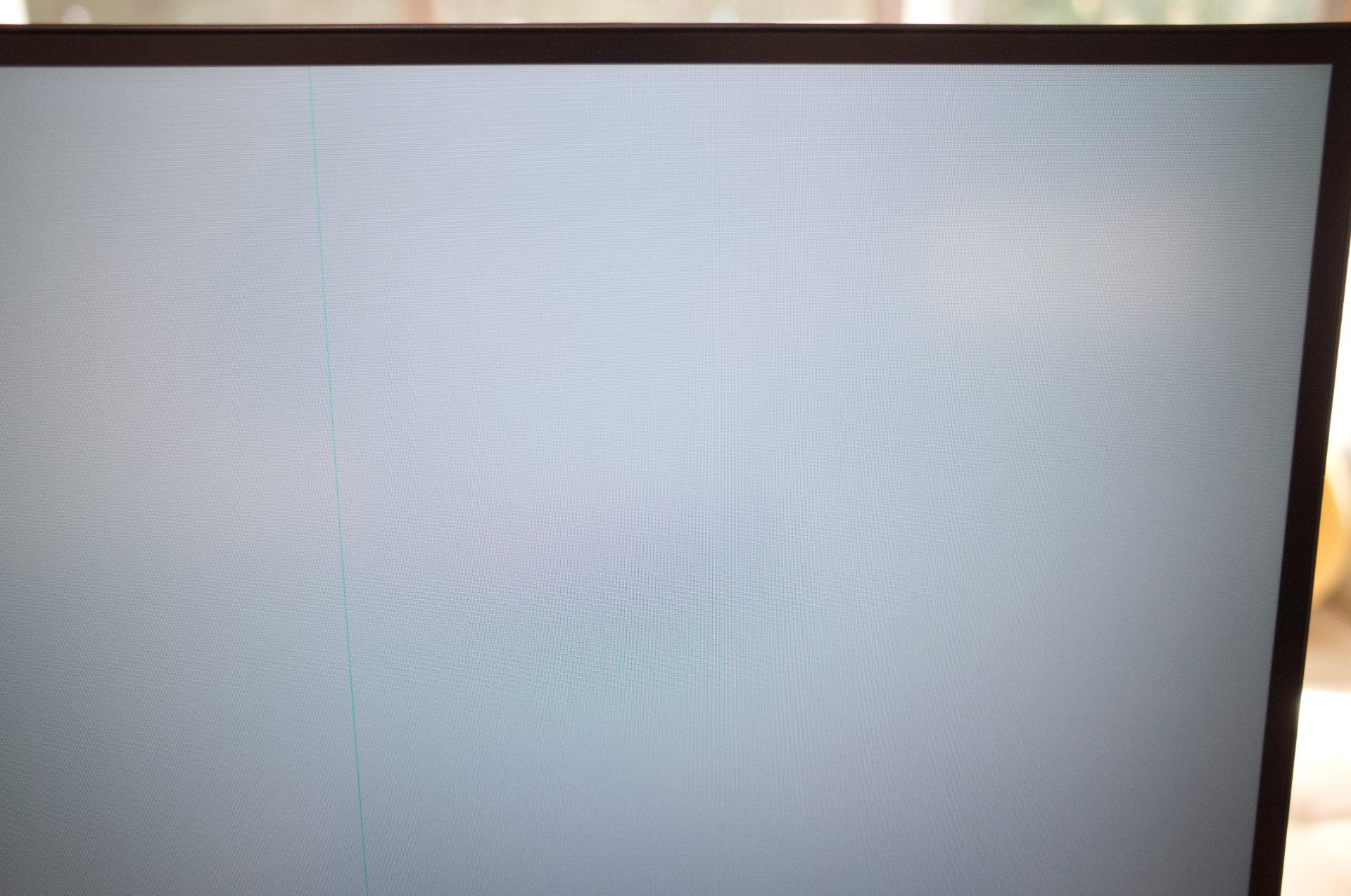 Dell「U3219Q 31.5(32)インチ 4K 」グレー色のバックカラーを表示