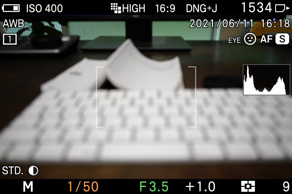 SIGMA fp スクリーンショット機能