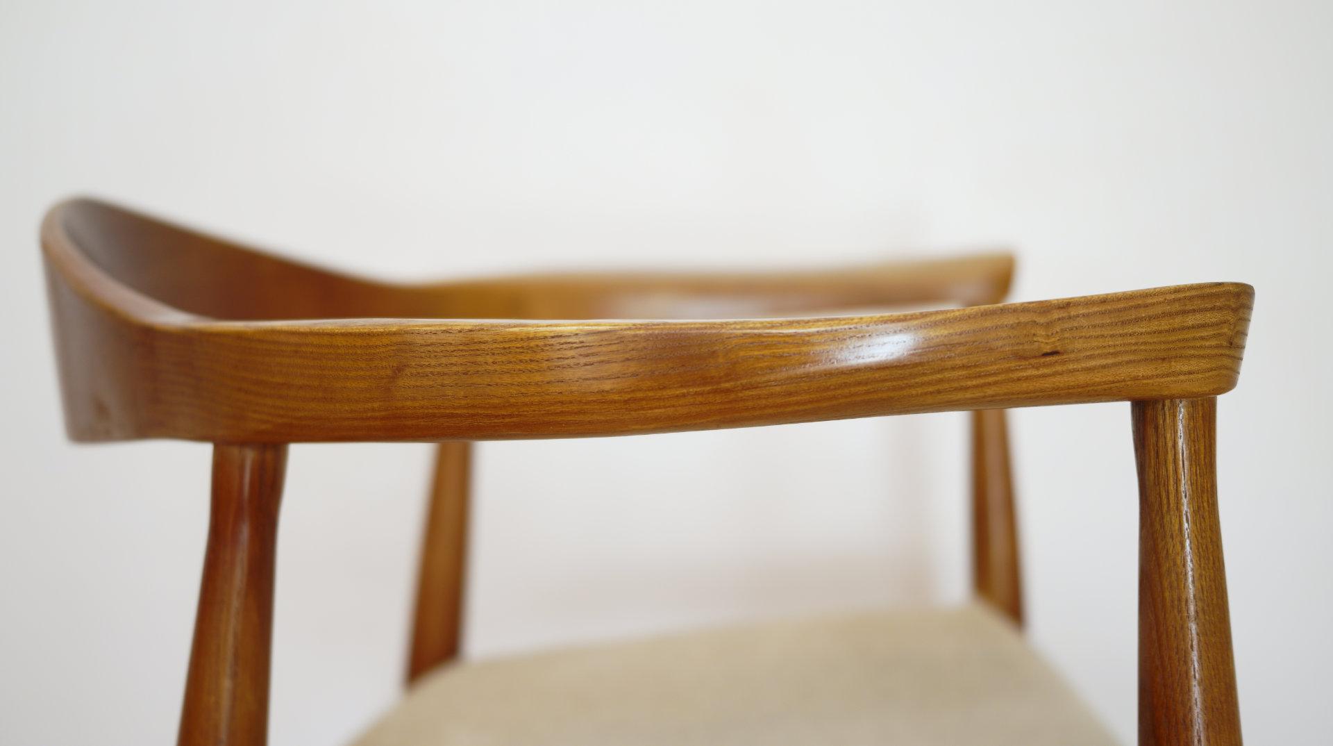 DEAIL+フォルム北欧デザイナーズ木製チェア「PP503 The Chair / ハンス・J・ウェグナー」
