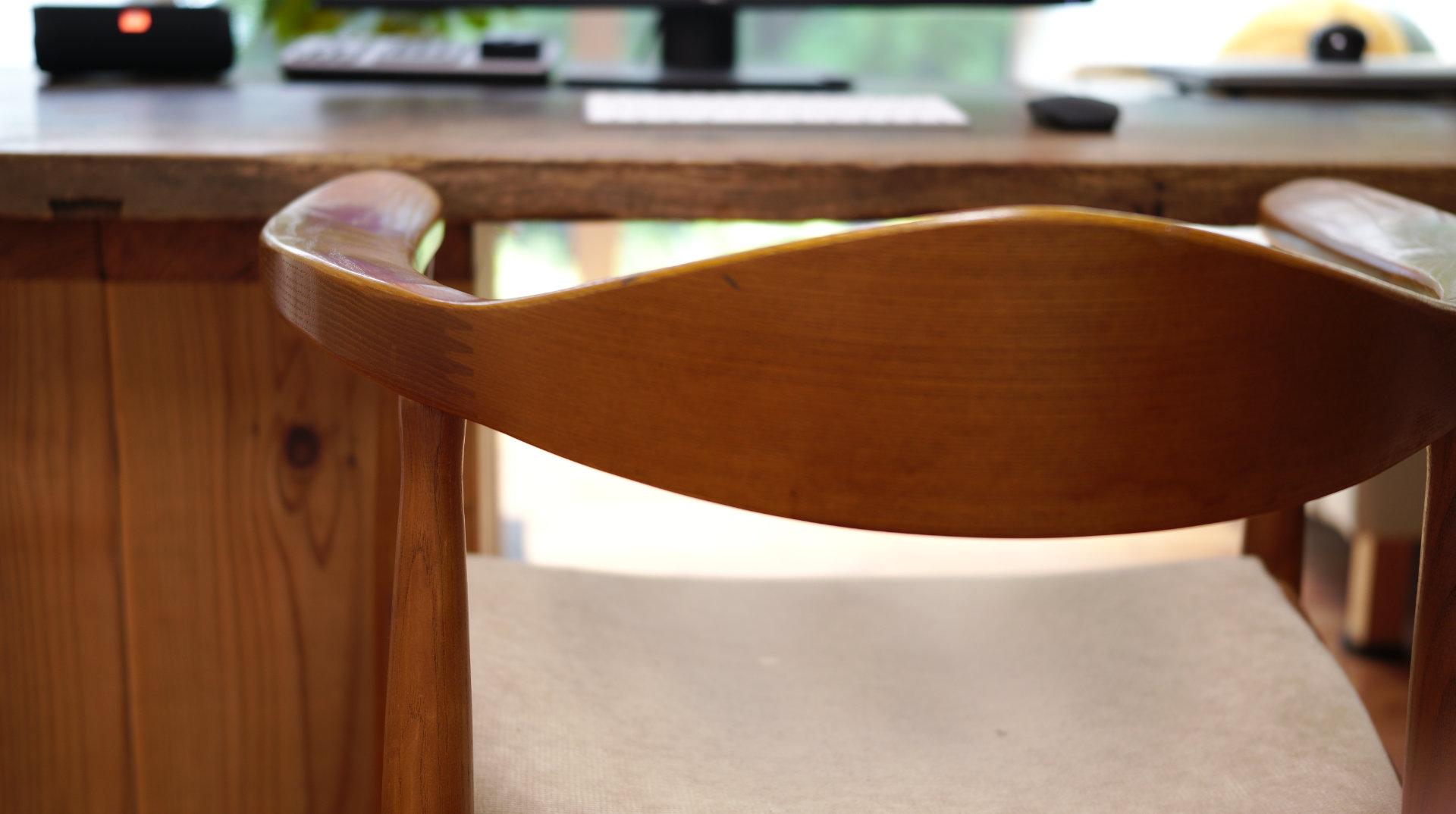 PC&デスク&北欧デザイナーズ木製チェア「PP503 The Chair / ハンス・J・ウェグナー」