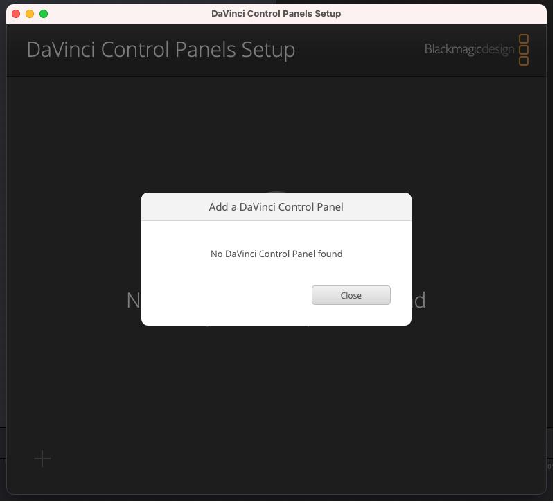 IP addressを入力しない場合。DaVinci Resolve Speed Editorアップデート