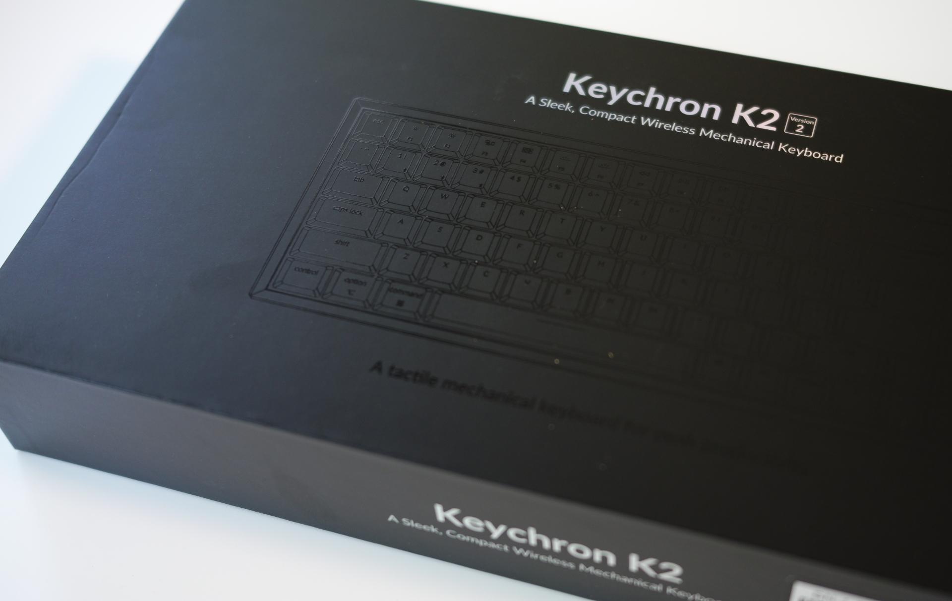 Keychron K2 日本語配列メカニカルキーボード 元箱