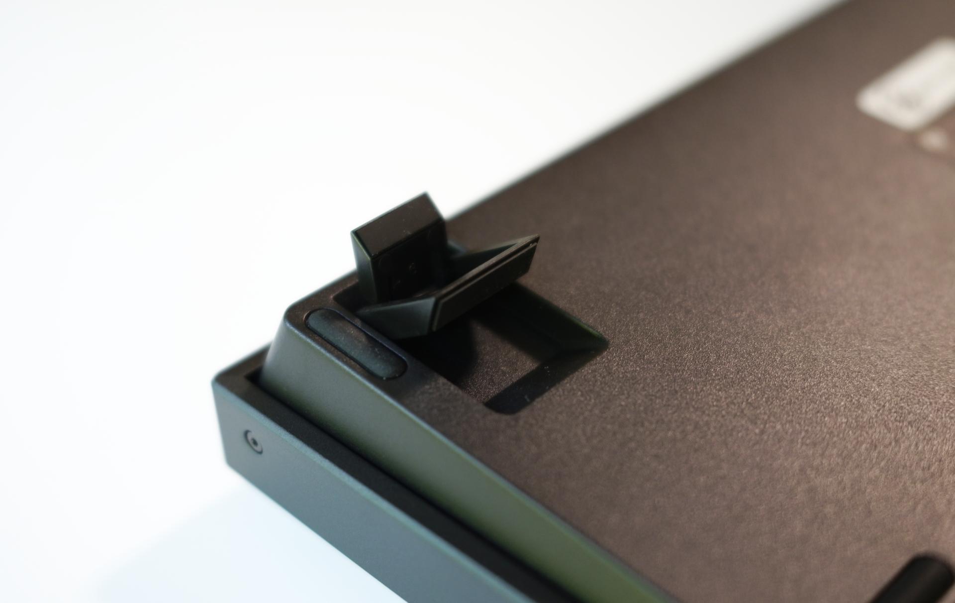 Keychron K2 日本語配列メカニカルキーボード高さ調整